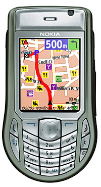 Nokia And Wayfinder Introduces 6630 GPS Package
