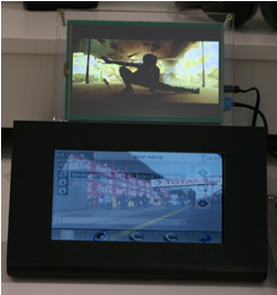 NXP: Dual View Screen For Car Use