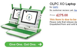 OLPC XO Laptop: European Orders Being Taken