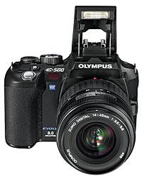 Olympus Launch E-500 dSLR
