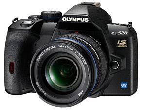 Olympus Announces E520 dSLR