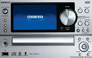 Onkyo X-NX10A Audio System Packs 80GB HD
