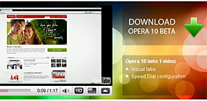 Opera Mobile 9.7 Browser Leaves Rivals 'In The Dust'