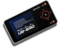 Oracom UB890 Portable Media Player