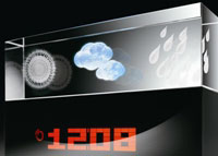 Oregon Scientific BA900 Crystal Weather Station