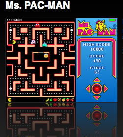Ms Pac Man Hits The iPod