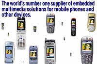 PacketVideo Ships 17 Million Multimedia Handsets in 2004