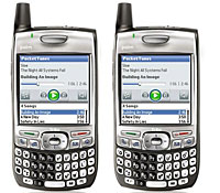 Takeover Bid and New Palm OS Model