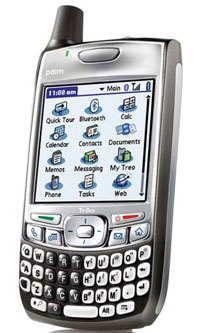 Palm OS Treo 700p Launches In US