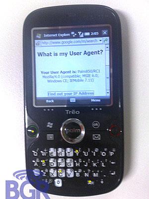 Palm Treo 850w WM Smartphone - Details