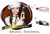 Panasonic's D-Snap MP3 Players Offer Amazing Battery Life