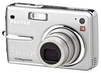Pentax Optio A20 Offers Three Types Of Anti-Shake