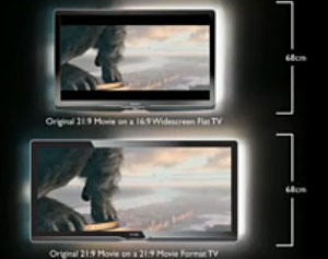 Philips Ultra-Widescreen Cinema 21:9 TV Gets Official For UK