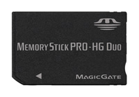 New Memory Stick PRO-HG From Sony And SanDisk