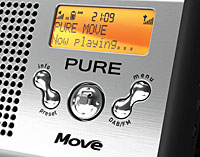 Pure Move Palm-sized DAB/FM Digital Radio Review (86%)