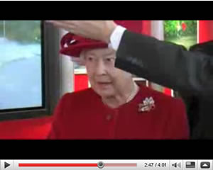 The Queen Visits Vodafone HQ (Videos)