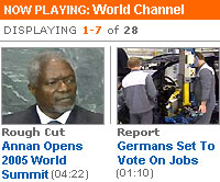 Reuters launches 3G Video News Service