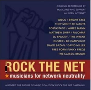 Rock The Net CD: UK Release 25 August