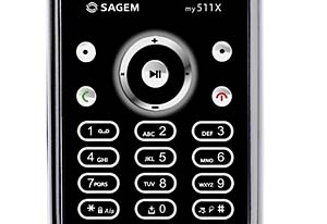 Sagem Launches Pre-Pay My511x Mobile