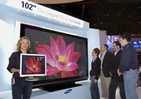 Samsung 102-inch PDP TV