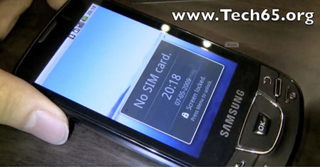 Samsung i7500 Android Phone: Video