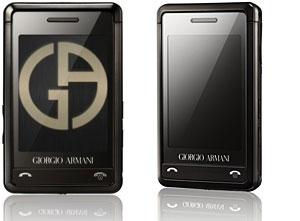 Samsung Armani Phone Packs Haptic Feedback Interface