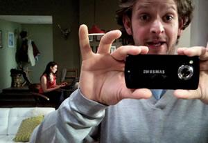 Samsung HD Phone Attempts Viral Video