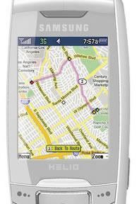 Helio Drift Gets Google Maps With GPS