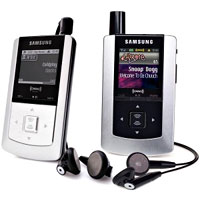 Samsung Helix XM2go Portable Satellite Radio/MP3 Player