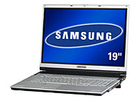 Samsung Unleash A Monster 19inch Notebook