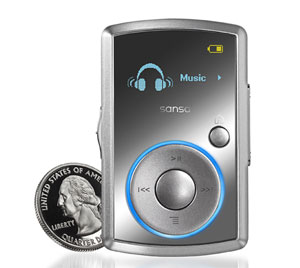 The player will happily grapple with MP3, WMA, WAV and Audible audio book ...