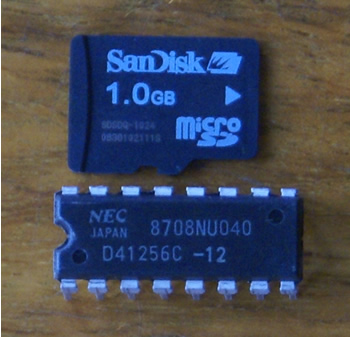 SanDisk microSD 1GB: Gosh It's Small