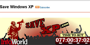 Users Petition To Keep XP Alive