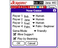 Scrabble for Palm/Pocket PC by Handmark