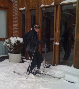 #uksnow Map Mashup & Skiing To Work!