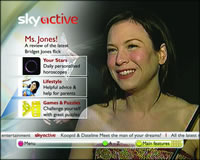 Sky Active Front page