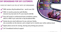 Sky Releases Free Broadband Service