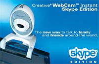 Creative Launch Skype 2.0-Certified Webcam