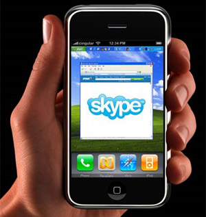 iphone skype