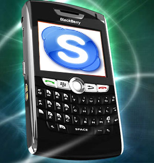 Skype Announced For iPhone and BlackBerry