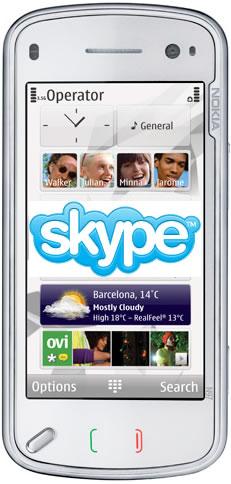 Skype Heading To Nokia Handsets