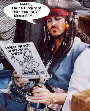 International Software Piracy Rate Remains At A Third