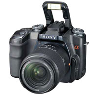 Sony Alpha 100 SLR Camera Specs Leaked