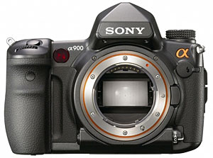 Sony Alpha 900 World's First Full-frame 24.6 Megapixel DSLR