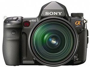 Sony Alpha 900 World's First Full-frame 24.6 Megapixel DSLR