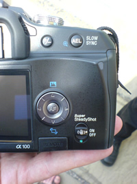 Sony Alpha A100 dSLR: Brief Look