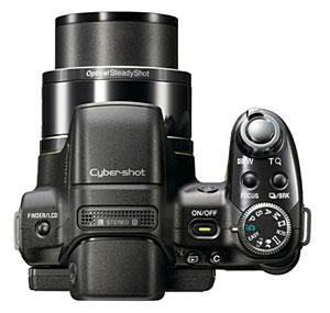 Sony Cyber-shot HX1 Ultrazoom Snapper Packs CMOS Sensor