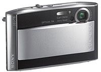 Sony Cyber-Shot DSC-T5 Ultra-Slim Camera Announced