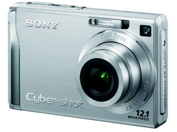 Sony Cybershot W200 Goes Up To 12MP