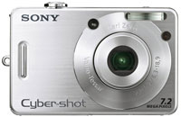 Sony Cybershot and W Series Digital Cameras Announced